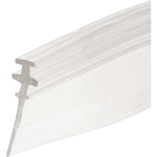 Prime-Line 3/4 In. x 36 In. Clear Double Tee Shower Door Bottom Sweep