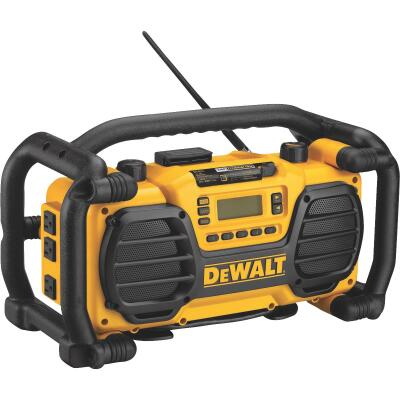 DeWalt 7.2-Volt to 18-Volt Nickel Cadmium/Lithium-Ion Cordless Jobsite Radio and Battery Charger (California Compliant)
