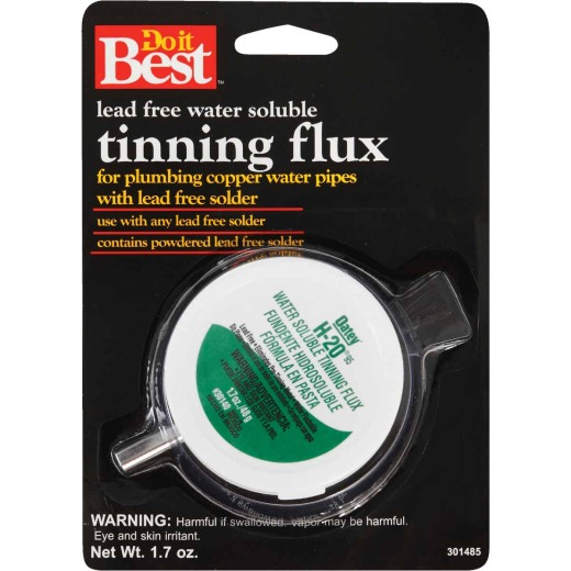 Do it Best H-2095 1.7 Oz. Water Soluble Tinning Flux, Powdered