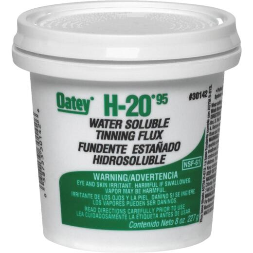Oatey H-2095 8 Oz. Water Soluble Tinning Flux, Paste