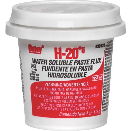 Oatey H-205 8 Oz. Water Soluble Soldering Flux, Paste