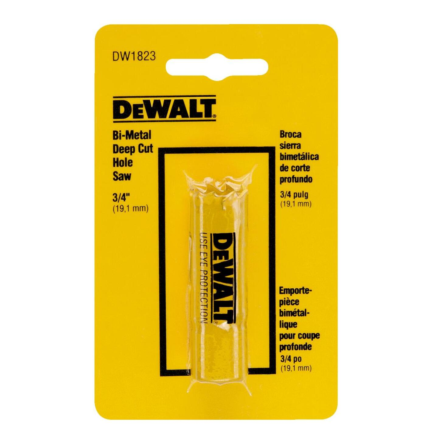 DeWalt 3/4 In. Bi-Metal Hole Saw Image 1