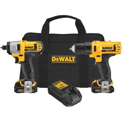 DeWalt XTREME 2-Tool 12 Volt MAX Lithium-Ion Brushless Drill & Impact Driver Cordless Tool Combo Kit