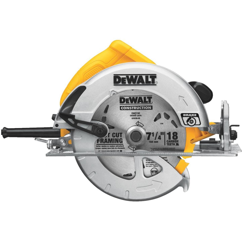 DeWalt 7-1/4 In. 15-Amp Lightweight Circular Saw Image 4