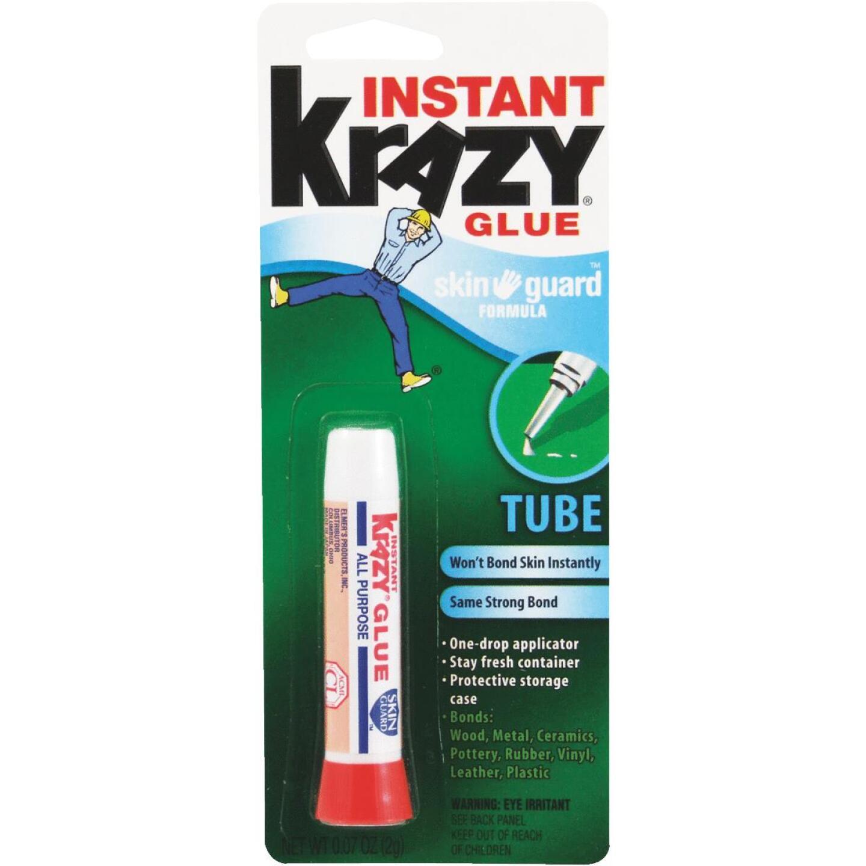 Krazy Glue 0.07 Oz. Liquid Skin Guard All-Purpose Super Glue Image 1