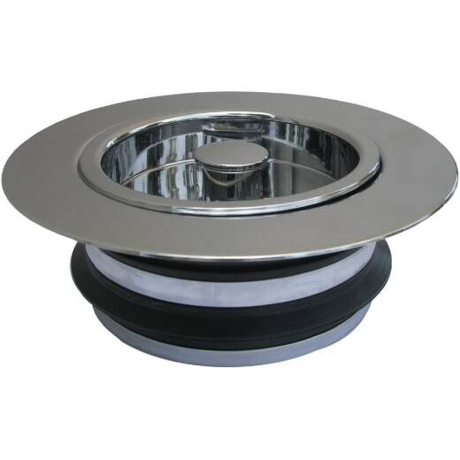 Lasco Chrome-Plated PVC Disposer Flange and Stopper
