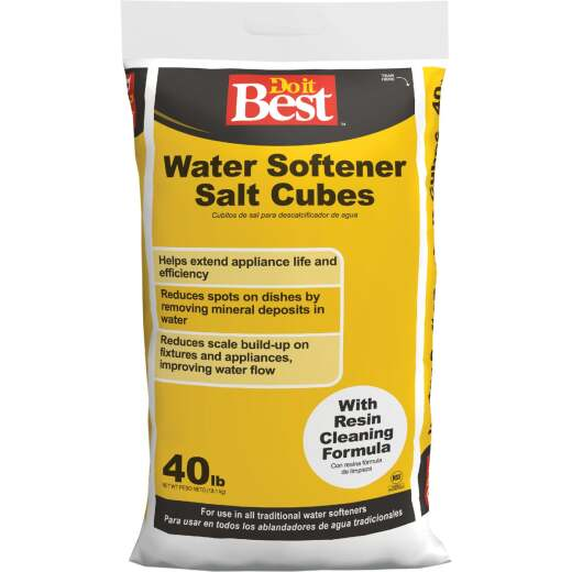 Do it Best 40 Lb. Water Softener Salt Cubes