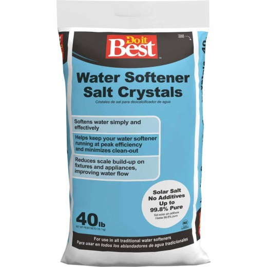 Do it Best 40 Lb. Extra-Coarse Water Softener Salt Crystals