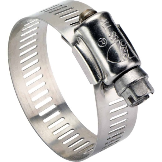 Ideal 4-1/2 In. - 6-1/2 In. All Stainless Steel Marine-Grade Hose Clamp