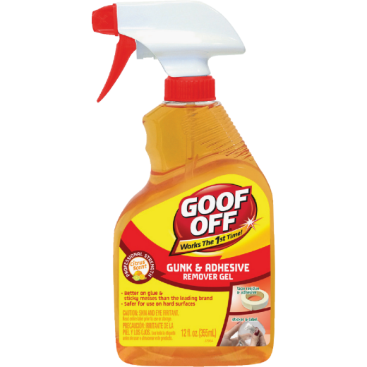 Goof Off 16 Oz. Spray Gel Gunk & Adhesive Remover