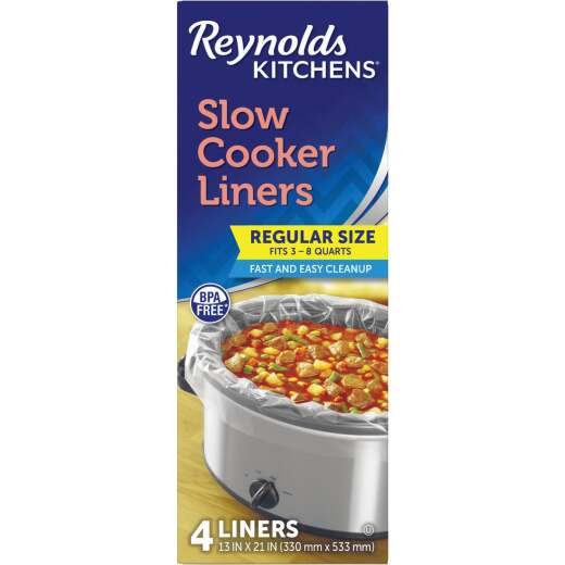 Reynolds Kitchens Slow Cooker Liners (4-Pack)