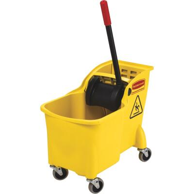 Rubbermaid Commercial 31 Qt. Tandem Bucket and Wringer