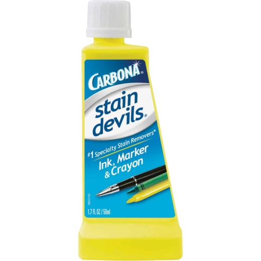 Carbona Stain Devils 1.7 Oz. Formula 3 Ink, Marker, & Crayon Stain Remover