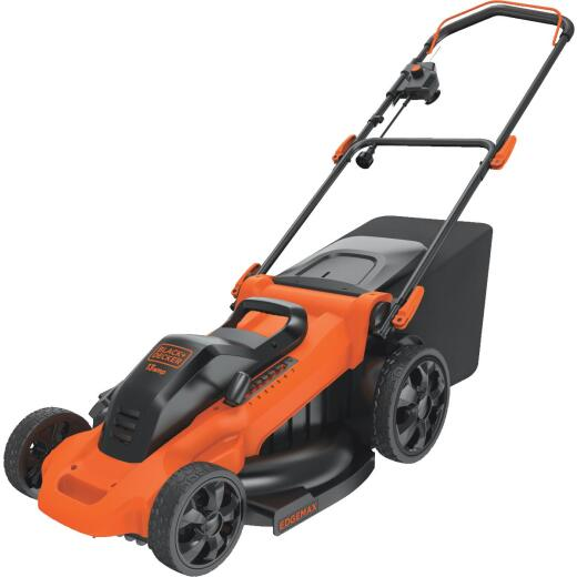 Black & Decker 20 In. 13A Push Electric Lawn Mower