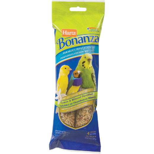 Hartz Bonanza 8 Oz. Parakeet Bird Treat Stick (4-Pack)