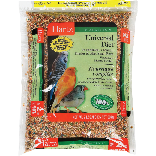 Hartz Nutrition Universal Diet 2 Lb. Multiple Species Bird Food