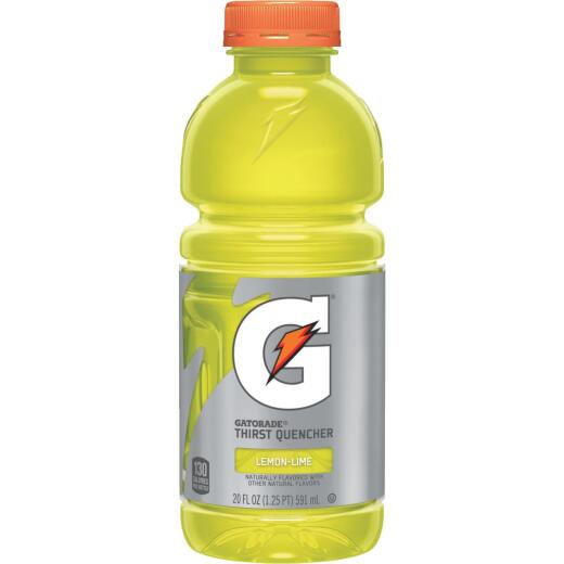 Gatorade 20 Oz. Lemon-Lime Wide Mouth Thirst Quencher Drink (24-Pack)