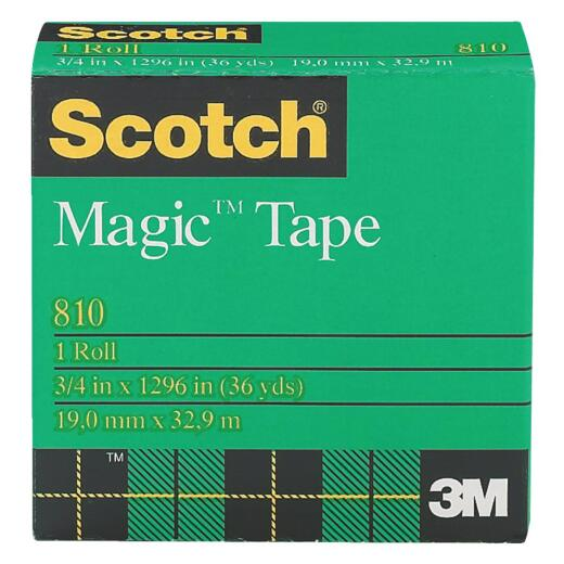 3M Scotch 3/4 In. x 1296 In. Magic Transparent Tape Refill