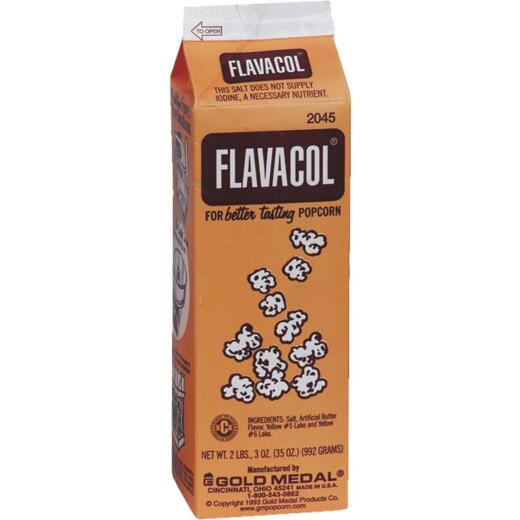 Gold Medal Flavacol 35 Oz. Seasoning Popcorn Salt